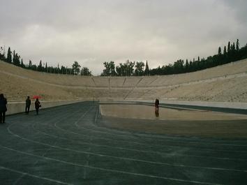 アテネ競技場(オリンピック・スタジアム)