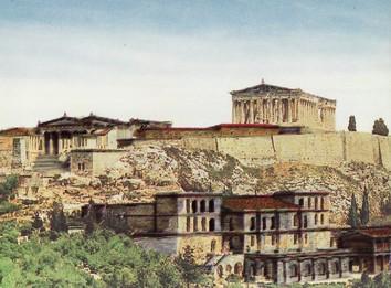 アクロポリス(想像図)